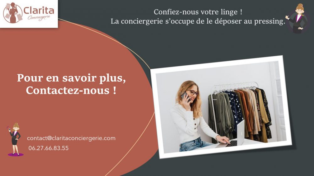 Clarita Conciergerie - Pressing
